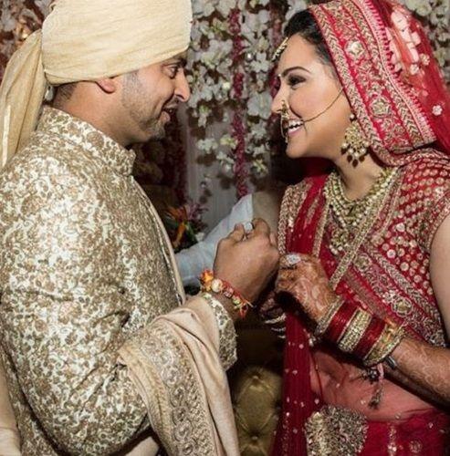 Priyanka Raina's Wedding Picture