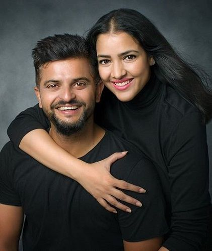 Priyanka Raina With Suresh Raina