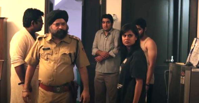 Prashansa Sharma in Baked (2015)