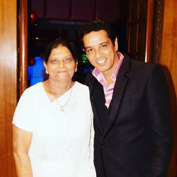 Anup Soni with his Mother