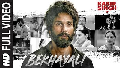 Bekhayali Song Lyrics