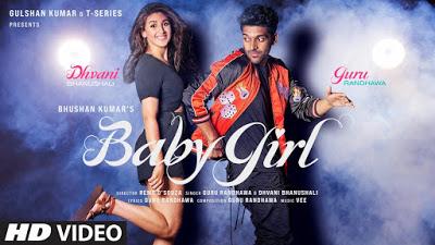 Guru Randhawa & Dhvani Bhanushali - Baby Girl Lyrics in English