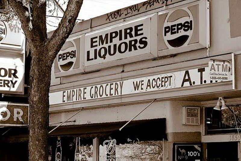 Soon Ja Du's Empire Liquor store