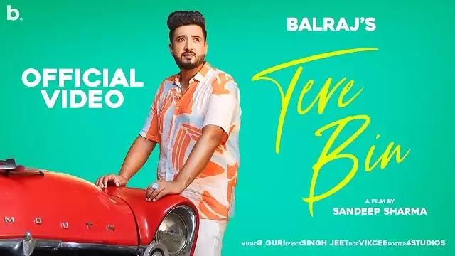 Tere Bin Song Lyrics   Balraj   Ft Shezali Sharma & Jimmy