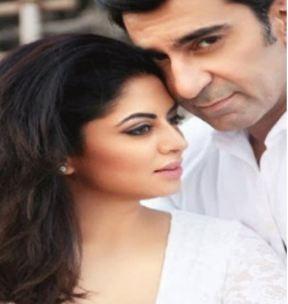 Kavita kaushik with Nawab Shah