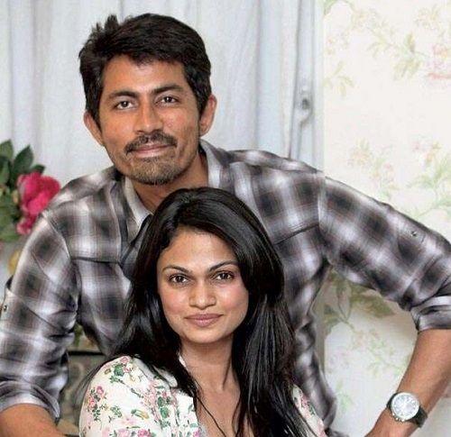 Suchitra Ramadurai With Her Husband