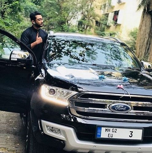Zaid Darbar's Car