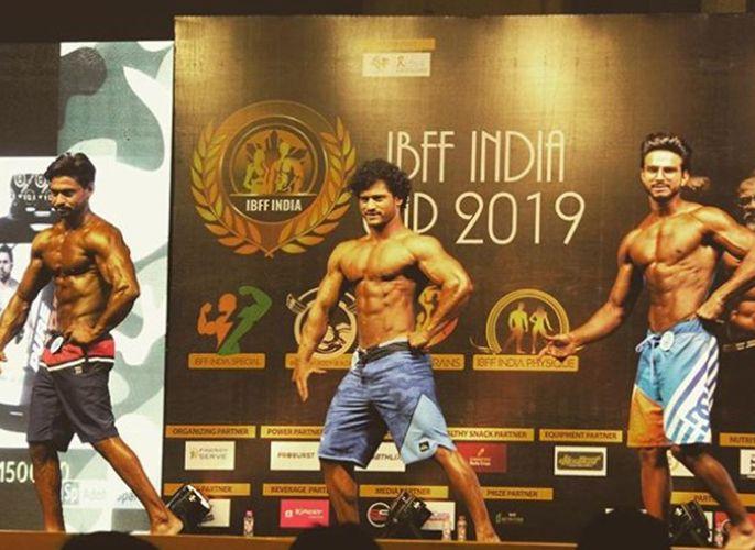 Aryan Pasha in International bodybuilding and fitness federation (IBFF) 2019