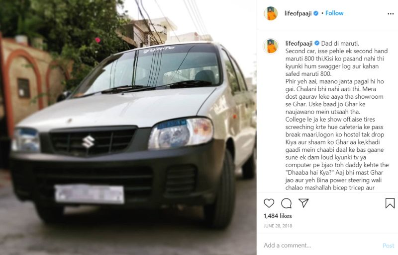 Jaspreet Singh's car
