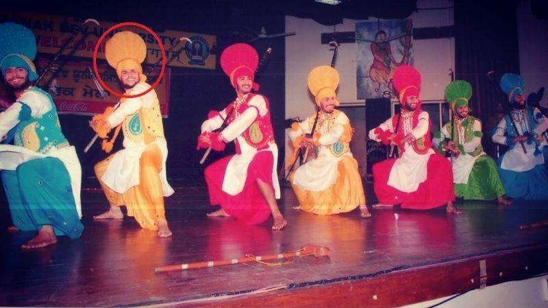 Jaspreet Singh's college dance performance