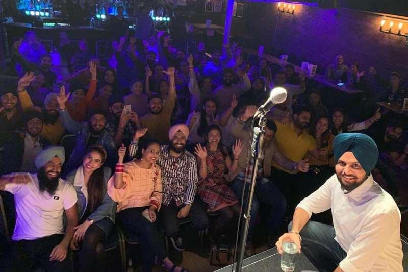 Jaspreet Singh's Ireland show