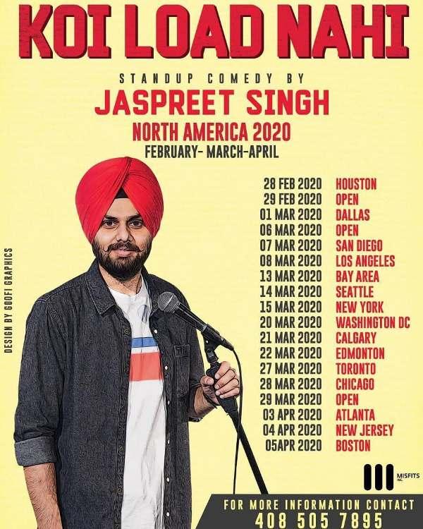 Jaspreet Singh's solo Koi Load Nahi