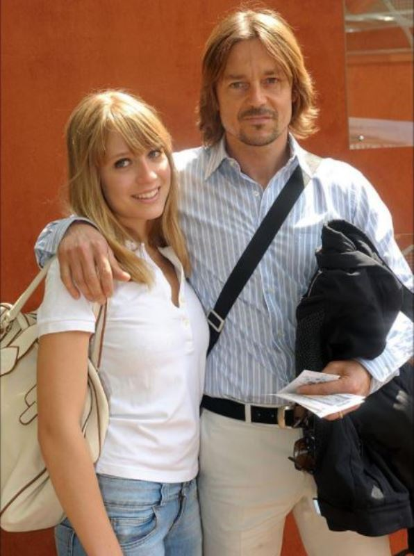 Daniel Bravo with his daughter