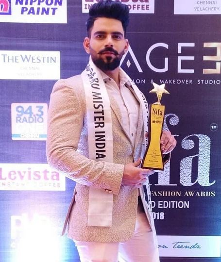 Bala Murugadoss as Mr. Rubaru International India 2018