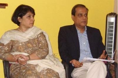Sucheta Dalal with Debashis Basu