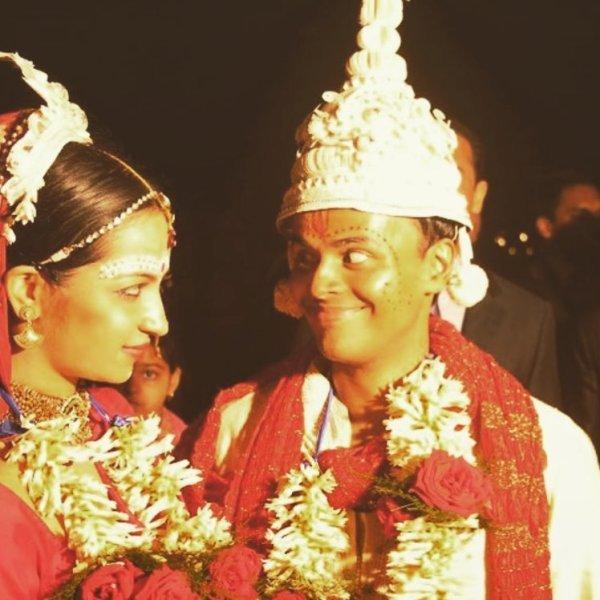 Sorabh Pant's wedding picture