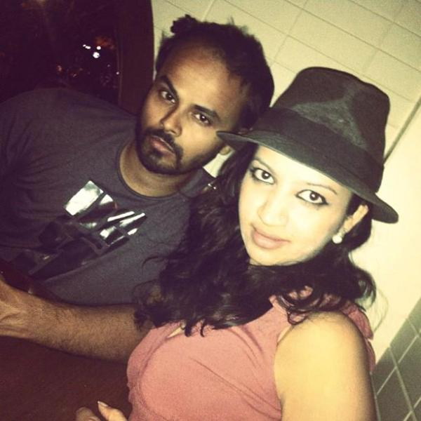 Sorabh Pant with his wife