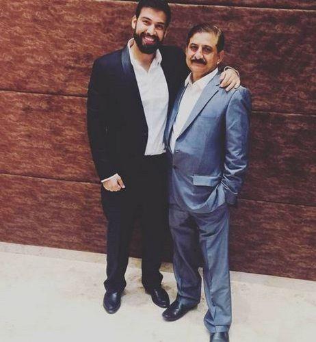 Milind Chandwani and His Father