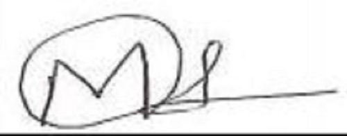 Milind Chandwani's Signature