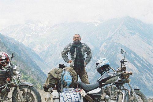 Asif Basra During a Trip