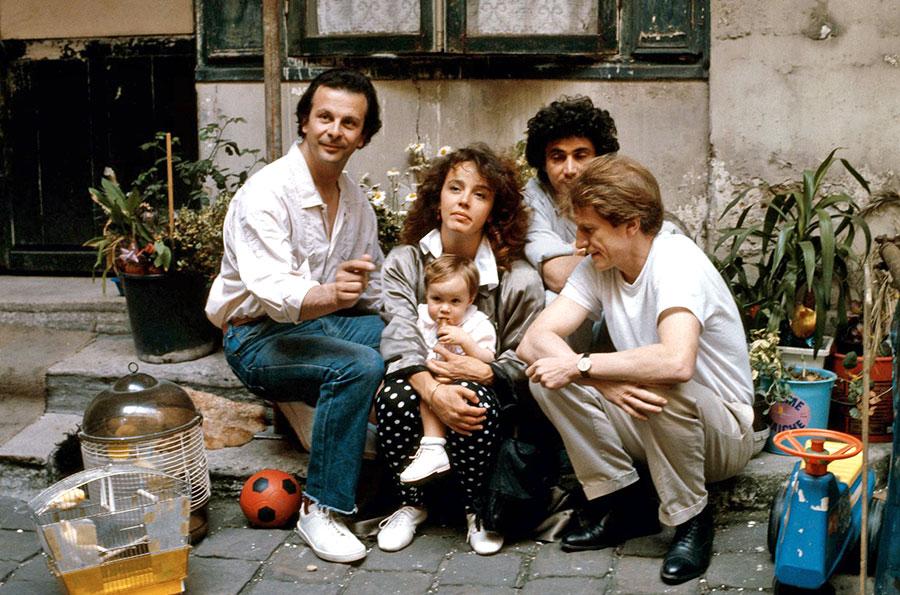 Philippine Leroy-Beaulieu in the movie 'Trois hommes et un couffin' (1985)