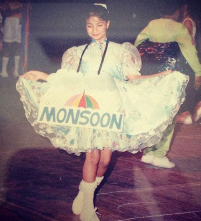Bhavna Ruparel in childhood