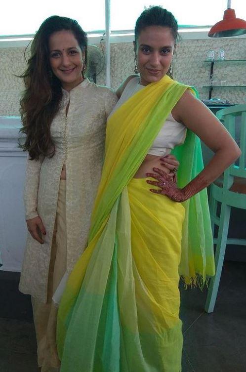 Bhavna Ruparel with her sister