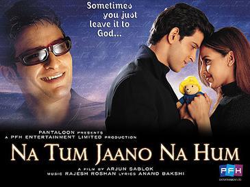 Na Tum Jaano Na Hum Film Poster