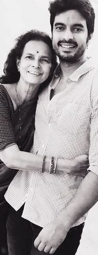 Gashmeer Mahajani With His Mother