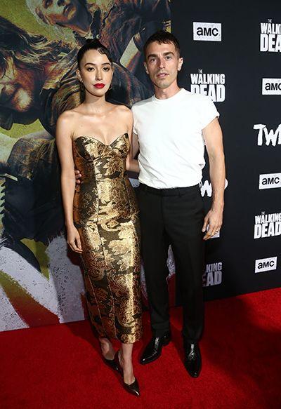 Christian Serratos with her Boyfriend