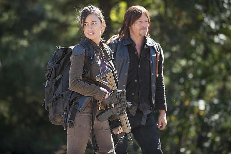 Christian Serratos in The Walking Dead (2014)