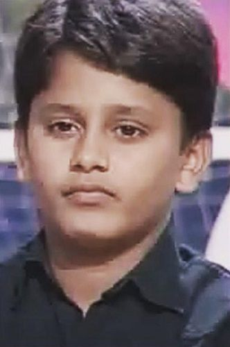 A Childhood Photo of Rahul Vaidya in a TV Reality Show