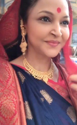 Leena Acharya in a TV Serial