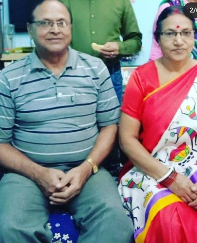 Leena Acharya's Parents