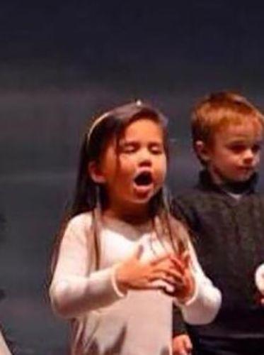 Selena Quintanilla as a Child