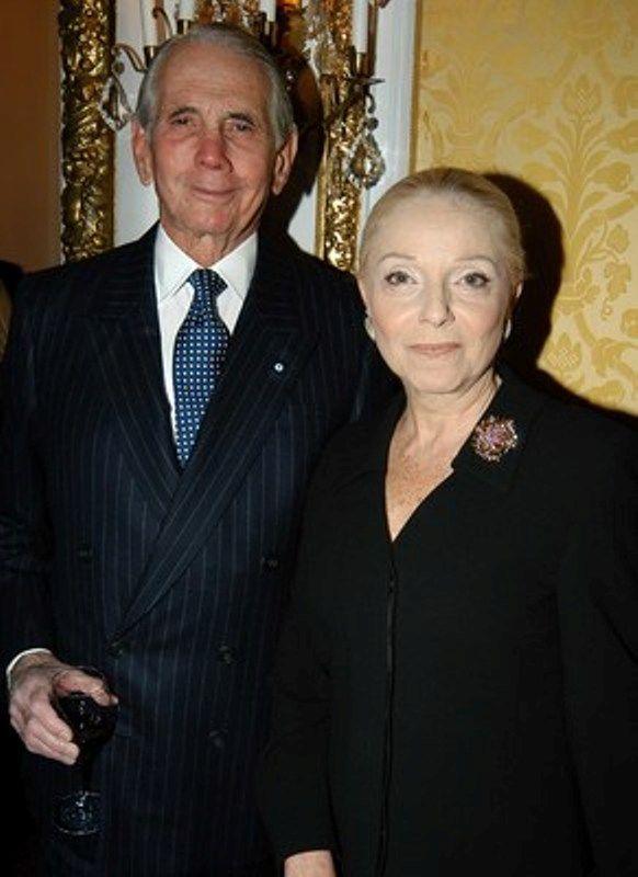 Antony Blinken's father Donald M. Blinken and stepmother Vera