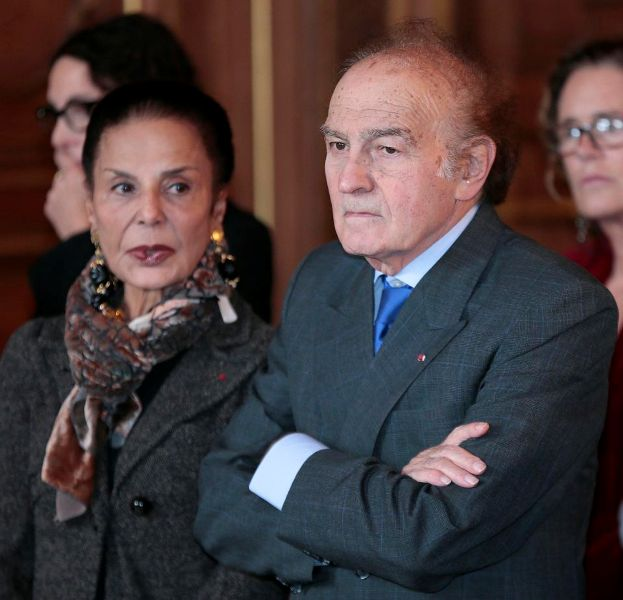 Antony Blinken's mother Judith and stepfather Samuel Pisar