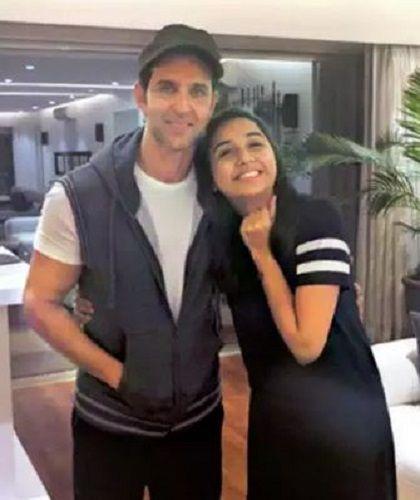 Prajakta Koli With Hrithik Roshan