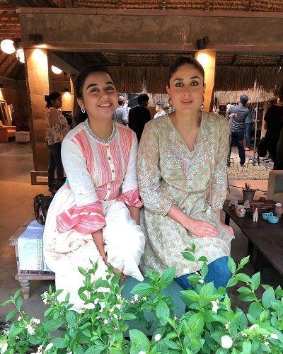 Prajakta Koli With Kareena Kapoor