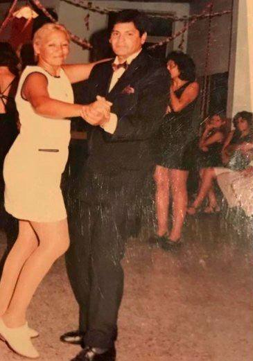 Rocio Oliva's late parents