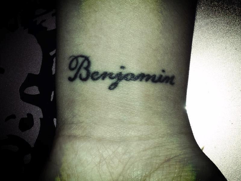 Giannina Maradona's tattoo