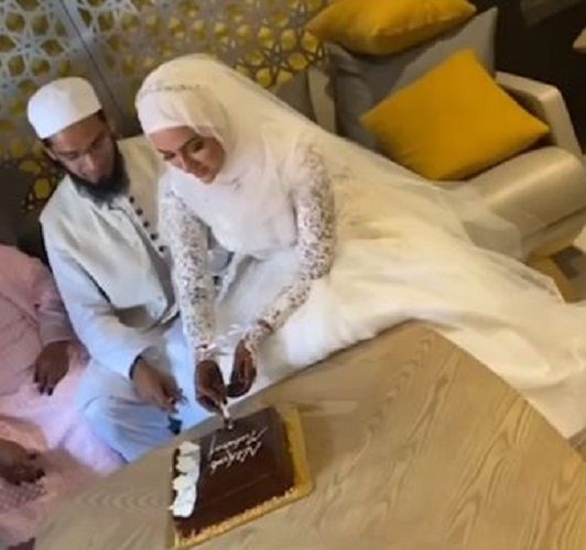 Mufti Anas With Sana Khan