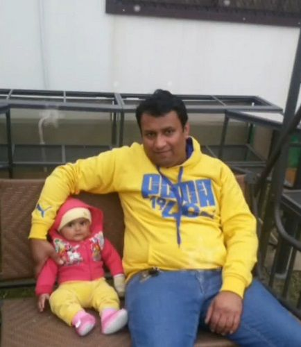 Mannat Murgai with her Father
