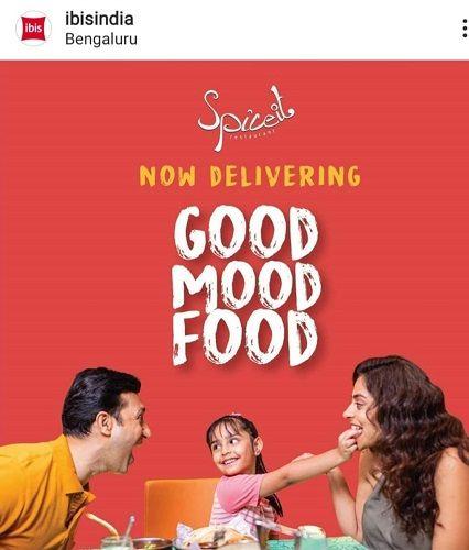 Mannat Murgai as a Model in an Advertisement
