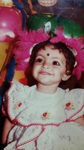 A Childhood Picture of Divya Bhatnagar