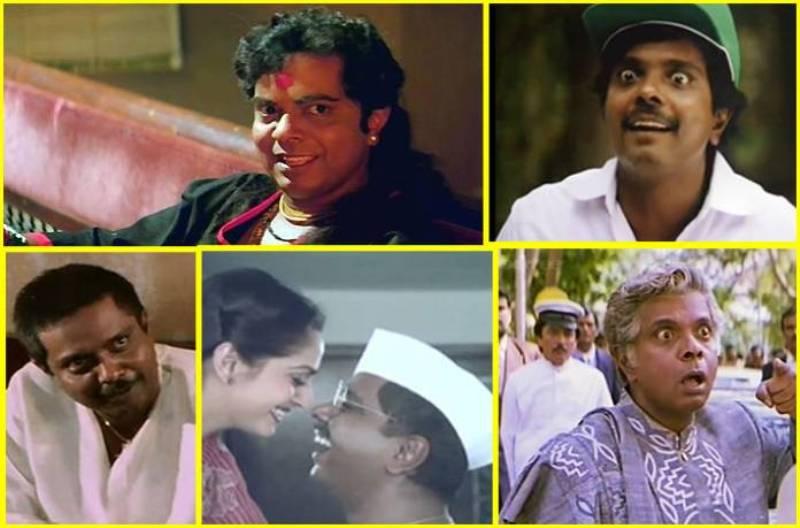 Sadashiv Amrapurkar's different roles