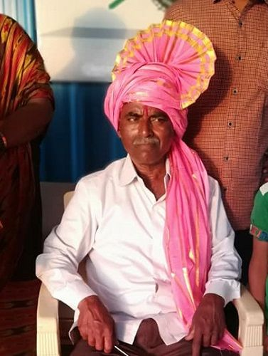 Ranjitsinh Disale's Father