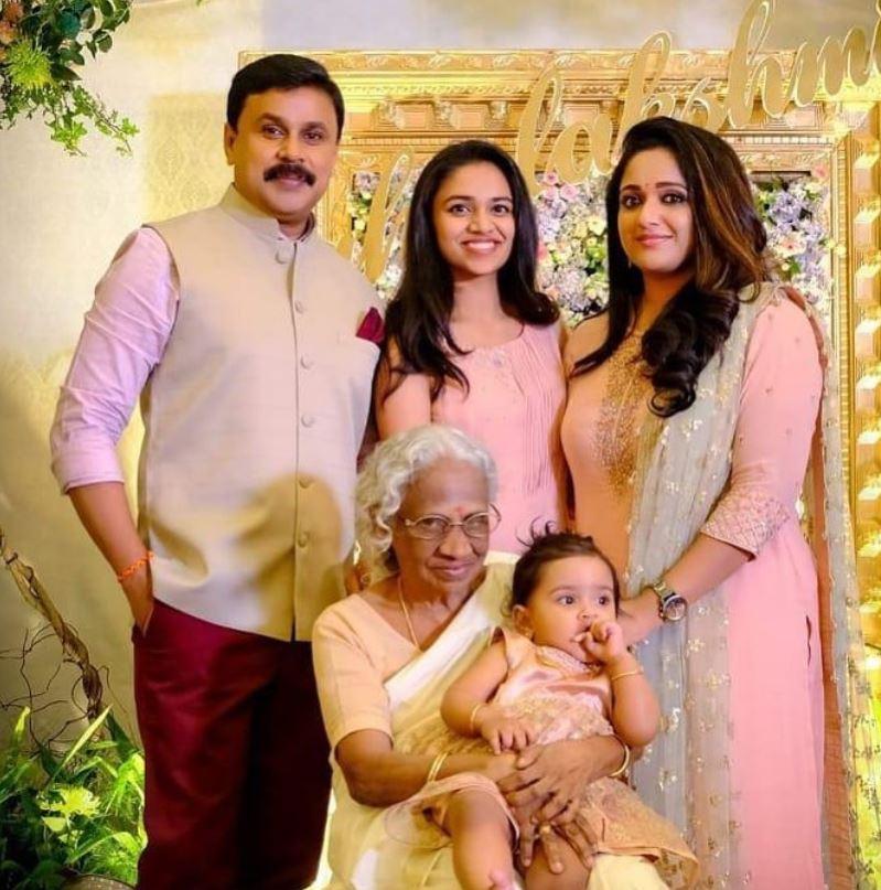 Premi Vishwanath with her family