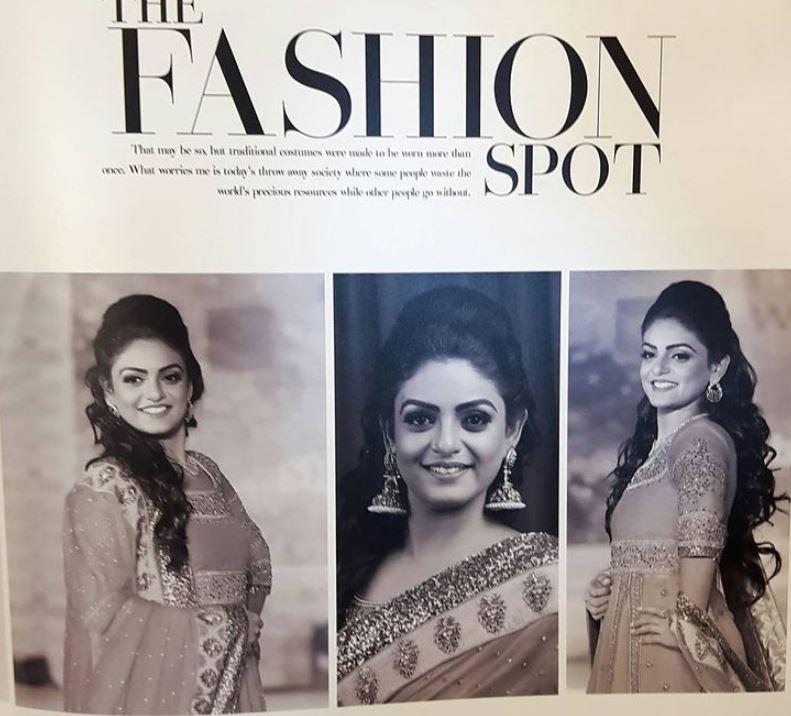 Premi Vishwanath as a model