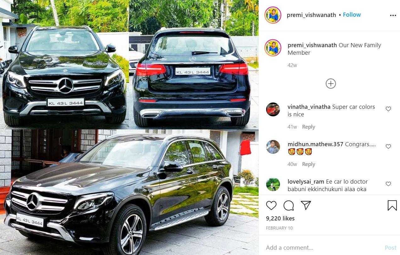 Premi Vishwanath's Instagram Post